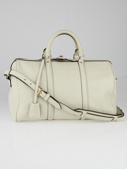 Louis Vuitton Cream Calf Leather Sofia Coppola MM Bag