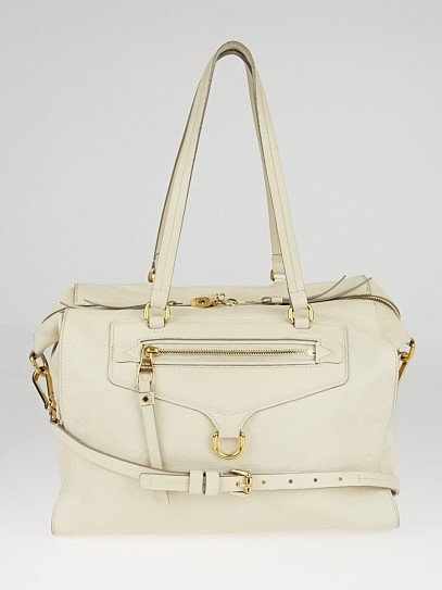 Louis Vuitton Neige Monogram Empreinte Leather Lumineuse PM Bag