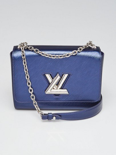 Louis Vuitton Indigo Epi Leather MM Twist Bag