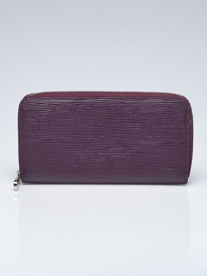 Louis Vuitton Cassis Epi Leather Zippy Wallet