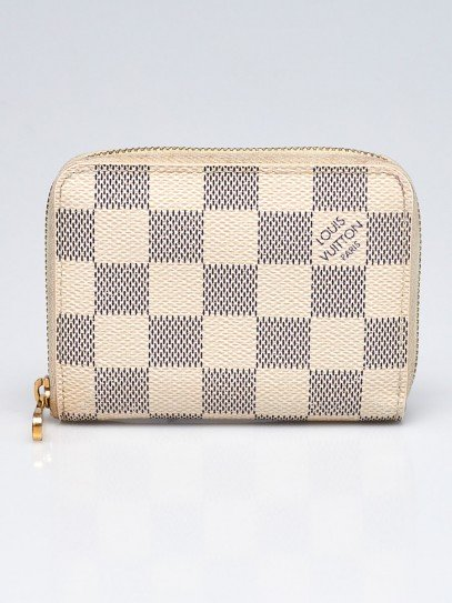 Louis Vuitton Damier Azur Zippy Coin Purse