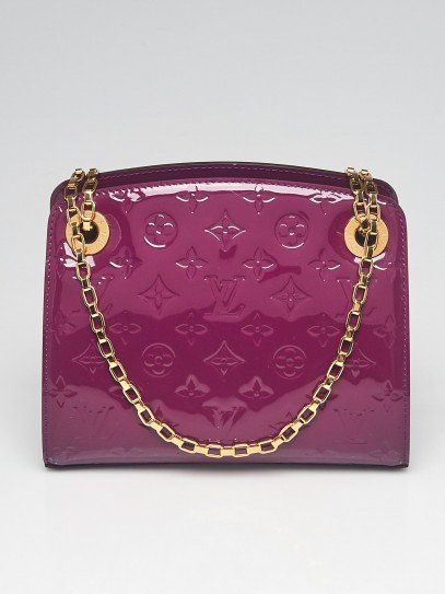 Louis Vuitton Amethyste Monogram Vernis Virginia PM Bag