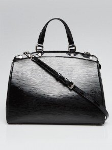 Louis Vuitton Black Electric Epi Leather Brea GM Bag