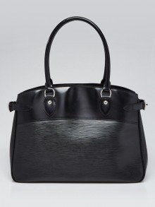 Louis Vuitton Black Epi Leather Passy GM Bag