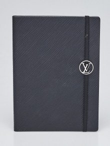 Louis Vuitton Black Epi Leather Gustave MM Notebook